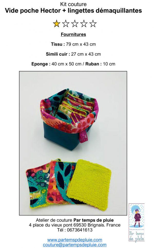 fichier en pdf kit lingettes